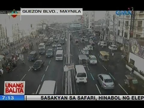 Traffic watch as of 7:13 a m  (February 8, 2019) | Video | GMA News