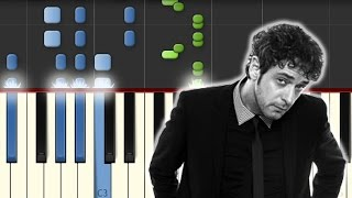 De Musica Ligera / Soda Stereo / Piano Tutorial / Synthesia / Notas Musicales