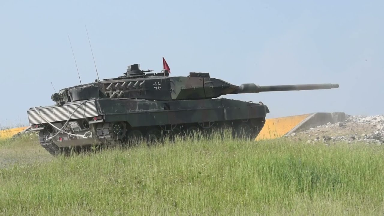 Tanks • Armoured Vehicles • Put through their Paces