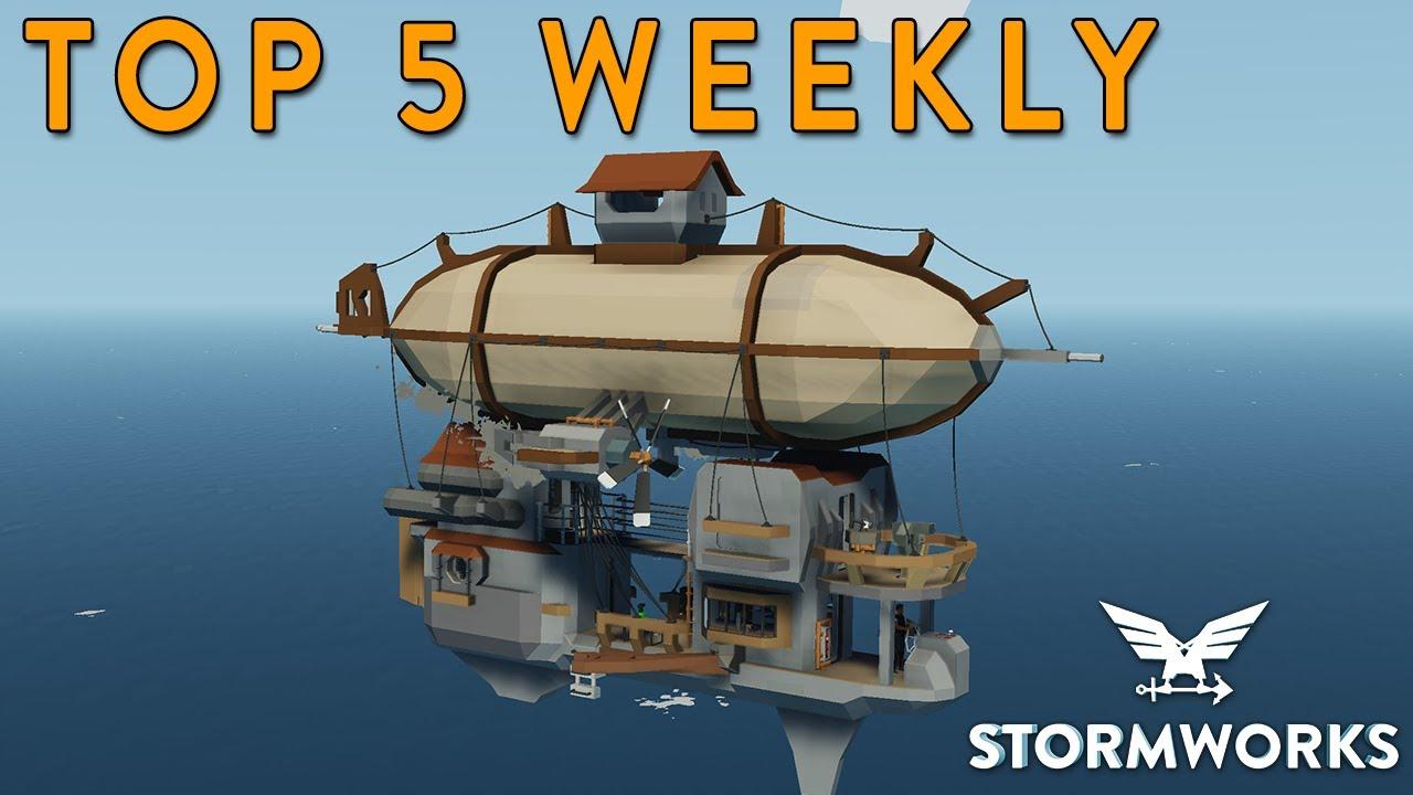 MrNJersey - Stormworks Weekly Top 5 Workshop Creations - Episode 96
