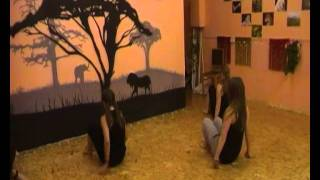 связка по модерну в студии танца  YARILA DANCE