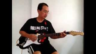 Loong Tung plays 'Theme for Young Lover' (The Shadows cover)