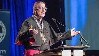 How to evangelize using new media: Bishop Barron speaks at University of Mary