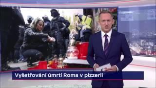 Reportáž České televize o vyšetřování smrti Roma v Žatci