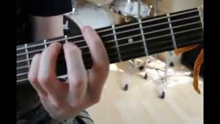 Nirvana Lithium, Guitar Chords Tutorial Acoustic