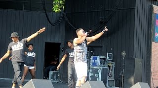 ARSIN LIVE @ POWER 99fm PEACE ON THE STREETS Concert with Diggy Simmons x Tinashe x Trevor Jackson