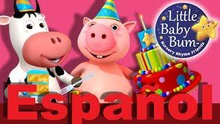 Cumpleaños feliz | Parte 2 | Canciones infantiles | LittleBabyBum