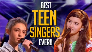 15 BEST Teen Singers on America's Got Talent EVER!