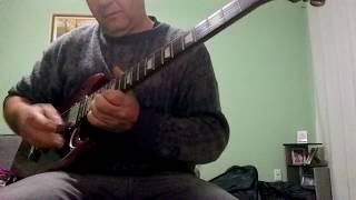 Rainbow Stargazer Solo Guitar Cover