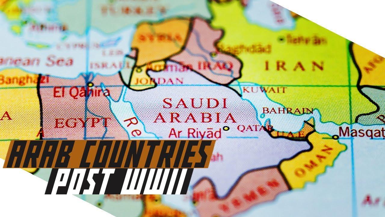 Arab Countries post-World War II