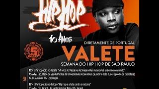Valete no encerramento da Semana do Hip Hop