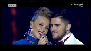 XFactor Greece 2017 Live 8 - CITY OF STARS - Konstantinos Notas & Tamta