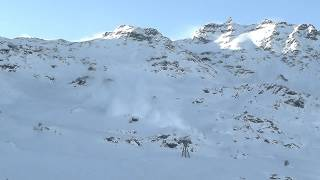 Live avalanche in Val Thorens - 2012-12-09