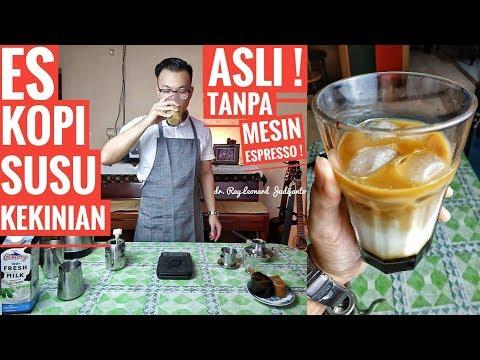 Download Video ES KOPI SUSU KEKINIAN Asli ! Tanpa Mesin Espresso ! - RESEP Dr. Ray Leonard Judijanto