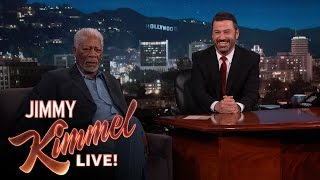 Morgan Freeman Narrates Pedestrians On Hollywood Boulevard