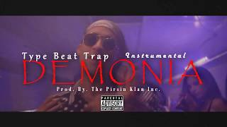 DEMONIA - Bad Bunny / TRAP BEAT TYPE / Kevin Roldan ( Audio Trap Instrumental 2017 )