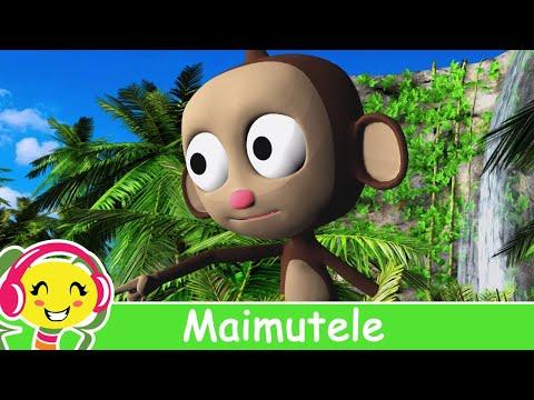 Maimutele - Cantece Pentru Copii