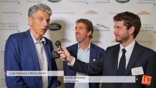 Luigi Mansani e Marco Berliri - Ip & Tmt Awards 2017 by legalcommunity.it