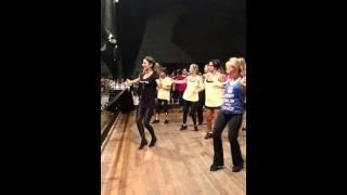 Matinê da Dança com Aline Mombelli