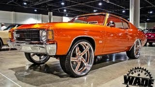 "Youngblood Kreations 1972 Chevrolet Chevelle on 24"" Bonspeed Billet Wheels"