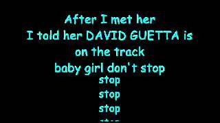 David Guetta feat. Taio Cruz & Ludacris- Little Bad Girl Lyrics