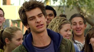 Peter Parker vs Flash - High School Life - The Amazing Spider-Man (2012) Movie CLIP HD