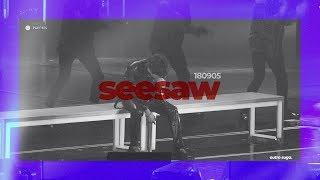 180905 Seesaw - BTS SUGA FOCUS (4K fancam)