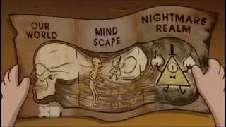 Gravity Falls: Bill cipher and Stanford made a deal