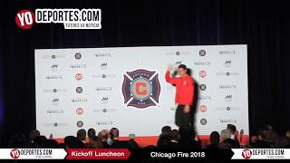 Chicago Fire 2018 Kickoff Luncheon