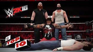 WWE 2K16 Top 10 mejores celebraciones