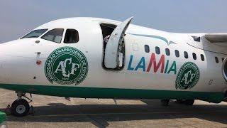 Exclusivo a Cabine Piloto avião chapecoense, Caio Junior e comissão time