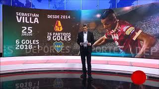 Sebastián Villa, la ficha clave para el titulo del Deportes Tolima