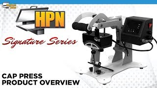 HPN Signature Series Cap Press Heat Transfer Machine - HeatPressNation.com
