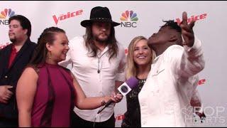 The Voice Season 10 Red Carpet - Team Blake Shelton -  Mary Sarah, Paxton Ingram, Adam Wakefield