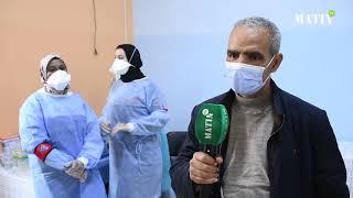 Campagne nationale de vaccination : Visite à Jorf El Melha