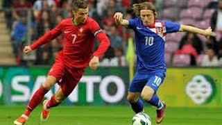 Resumen Croacia vs Portugal(0-1)Gol de Quaresma