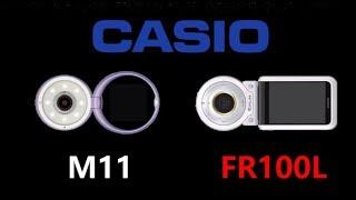 Casio TR-M11 vs Casio Exilim EX-FR100L
