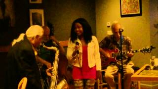 """""""Almost Like Being In Love"""" Jazz Standard - Cover - Hillary Hawkins, Rio Clemente"""