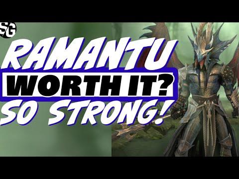 Ramantu worth it? This champion is over 9000! Raid Shadow Legends Ramantu Drakesblood