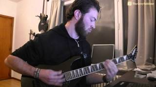 Liar - Frostbite (guitar cover)