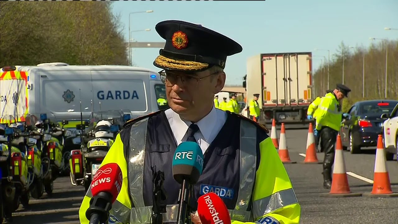 Garda Commissioner Briefing over Covid-19 Restrictions