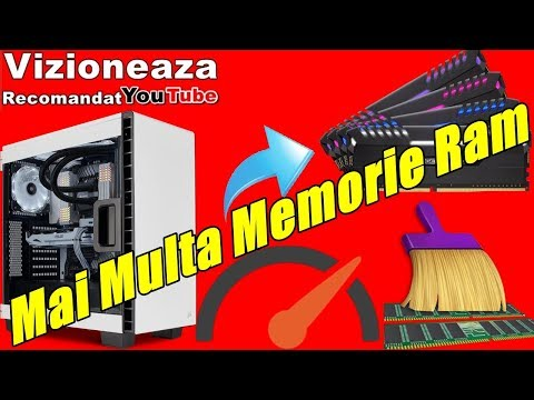 Fa Asta Si O Sa Ai Mai Multa Memorie Ram La PC/ Reduce Consumul