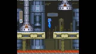 Mega Man X No Dash/Minimalist Challenge - Flame Mammoth (Silent)