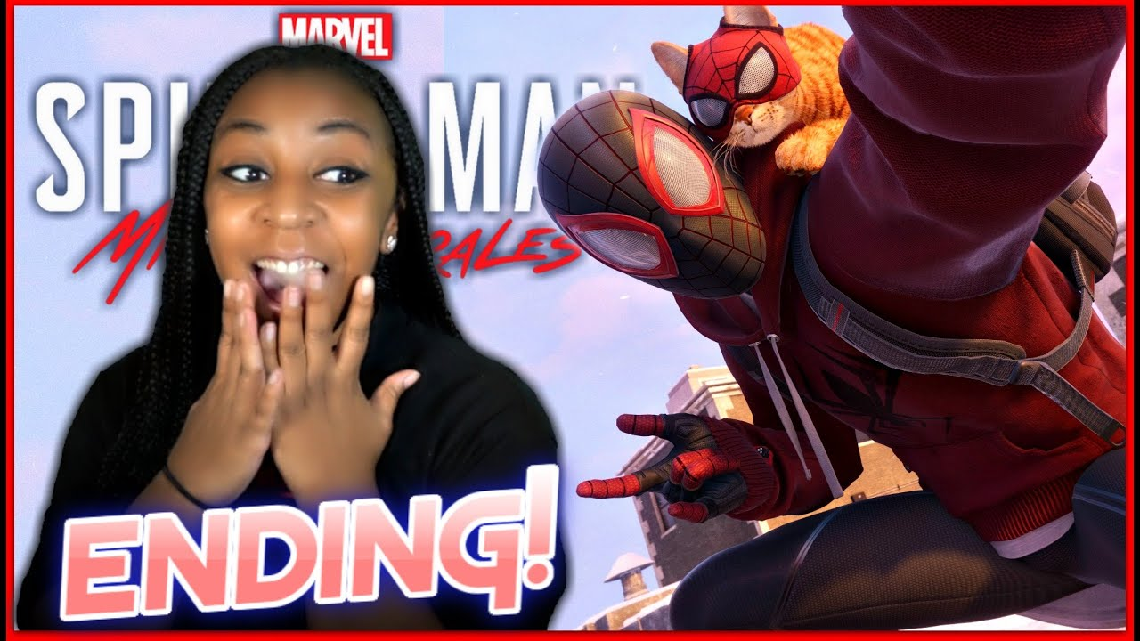 JazzyGuns - I GOT SPIDER-CAT!! | Marvel's Spider-Man: Miles Morales PS5 Gameplay!!! | ENDING 100% + Thoughts