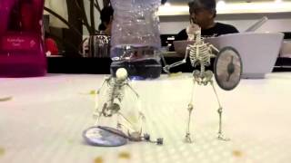 Skeleton attack!