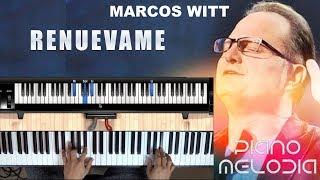 Renuevame Melodía De Piano (Marcos W) - (Principiante - Intermedia)