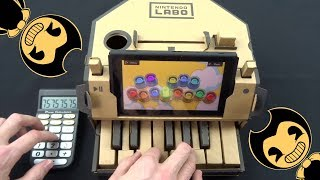 Bendy And The Ink machine - Build Our Machine (Nintendo Labo, Drum Calculator Cover) DA GAMES