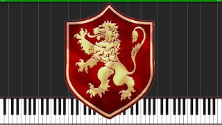 The Rains of Castamere - Game of Thrones [Piano Tutorial] (Synthesia) // Logan Dougherty
