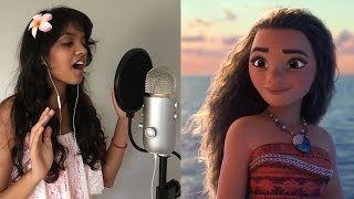 How Far I'll Go (Movie Version || Auli'i Cravalho) Cover - Disney's Moana