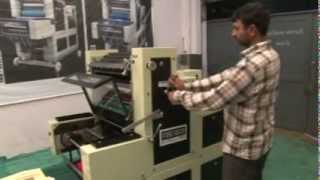 Non Woven D Cut Bag Printing Machine - Rajkot Offset Machinery Co.